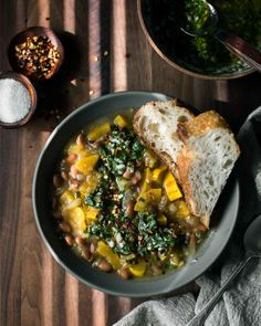 Pinto Squash Stew with Chimichurri | Naturally Ella