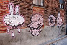Montreal Mural by WZRDS / Killyjoy / Everybody Hurts