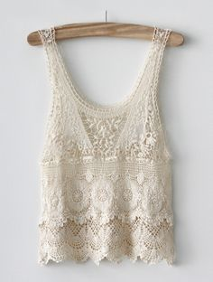 Hanna Crochet Tank