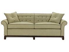 Color contrast on welt. Vanguard Sofa, 632-S,