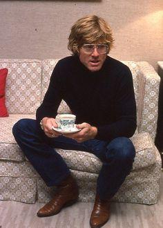 Por La Cándida Adolescencia!!! — bonjour-paige: Robert Redford visits London in...