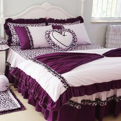 Purple Bedding Sets Queen - Home Furniture Design King Bedroom Sets, Queen Bedding Sets, Luxury Bedding Sets, Bedroom Bed, Comforter Sets, Bedroom Decor, Design Bedroom, Purple Bedding Sets, Purple Bedrooms