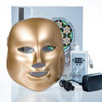 LED Photon Therapy Light Treatment Facial Skin Care Mask Red Green Blue Phototherapy - Gold @ http://astore.amazon.com/health-wealth-20/detail/B01DOJEC5W
