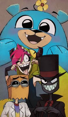 Villainous - A charming series of cartoon shorts, and Markiplier voices the bear!!