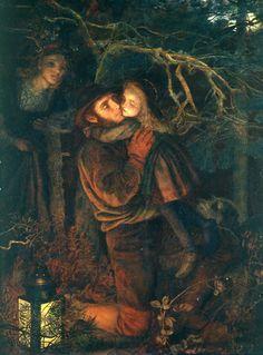 Arthur Hughes (Londres 1832 – id. 1915) - L'enfant Perdu/The Lost Child