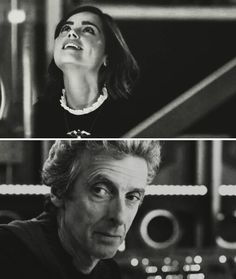 I love the way he looks at her <3
