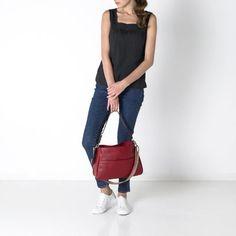 Cath Kidston Double Handle Leather Bag