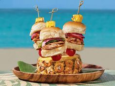 Lil Kahuna sliders with Big Kahuna flavor. #LaborDay
