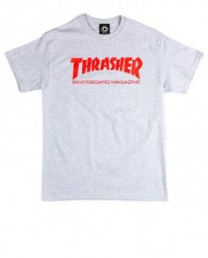 THRASHER SKATE MAG GRAY