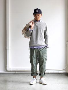 maillot マイヨ wool pile sweat trainer (ウールパイルスウェットトレーナー) MAC-15138