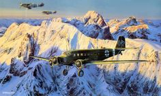 The Most Dangerous Photo-Recon Mission of World War II Junkers Ju-52/3m