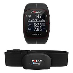 Polar GPS Heart Rate Monitor Watch - One - White. Waterproof GPS running watch with activity tracking White. Flow App, Best Trail Running Shoes, Running Shoes For Men, Bluetooth, Sport Watches, Cool Watches, Polaroid, Best Amazon Deals, Running Watch