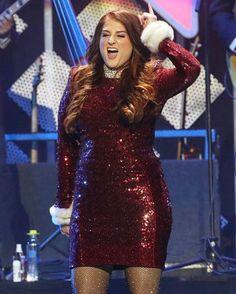 YASSSSS OMG!  #MeghanTrainor #JingleBallLA @meghan_trainor