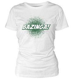 Camiseta chica BAZINGA! - Varias tallas. #thebigbangtheory http://www.akibaclub.com/search/camiseta%20bazinga%20chica/