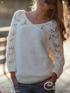 This beautiful sweater has me Sweater Knitting Patterns, Coat Patterns, Knitting Stitches, Knitting Daily, Baby Knitting, Armband Diy, Quick Knits, Baby Girl Crochet, How To Purl Knit