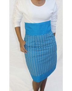 Shwe Shwe High Waist Pencil Skirt by Makotis