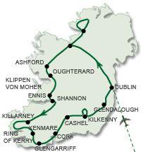 Irische Highlights - Rund um Irland gruene-Insel.de