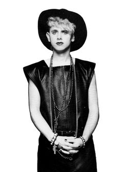 Martin Gore in a skirt! Martin Gore, Mr Martin, Great Bands, Cool Bands, More Gore, Alan Wilder, Enjoy The Silence, Band Pictures, Dave Gahan
