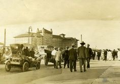 The Hotel Galvez in Galveston circa It still stands today. Family Vacation Spots, Vacation Trips, Vacations, Coast Hotels, Galveston Island, Texas Pride, Texas History, Travel Memories, Old West