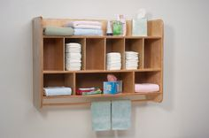 Whitney Brothers NewWave Hang On The Wall Diaper Unit WB4646