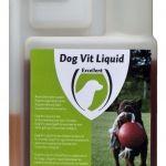 Dog Vit Liquid  Dog Vit Liquid  Vitamineboost voor honden. Aanvullend diervoeder. Voor een optimale vacht huidverzorging groei en dracht. Verstrek Dog Vit Liquid wanneer uw hond extra vitaminen nodig heeft. Samenstelling per kg: Vit. A 25.000.000 IE Vit. D3 5.000.000 IE Vit. E 10.000 mg Vit. K3 3.000 mg Vit. B1 1.500 mg Vit. B2 1.250 mg Niacine 20.000 mg Vit. B5 6.500 mg Vit. B6 2.000 mg Vit B12 20.000 mcg Vit B11 50 mg Biotine 250.000 mcg Vit. C 20.000 mg Calcium 420 mg 38678 kcal…