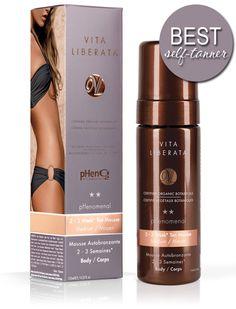 The BEST Self-Tanner: Vita Liberata pHenomenal 2-3 Week Tan Mousse