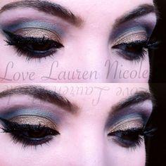 Eye makeup. Follow on YouTube and Instagram. LoveLaurenNicoleOffical