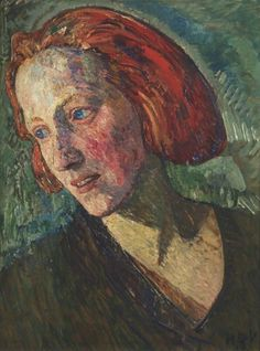 Heinrich Vogeler - The Red Marie,1919