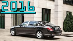 ►2016 Mercedes S600 Maybach Guard Twelve Cylinder Protection Level VR10 ...