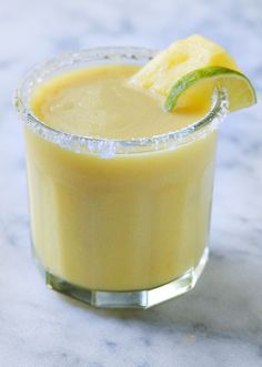 Caramelized pineapple margarita