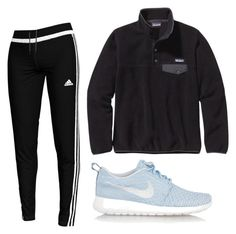 """Untitled #60"" by oliviakhove on Polyvore featuring Patagonia, NIKE and adidas"