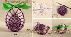 Image gallery – Page 546694842264291998 – Artofit Crochet Stone, Crochet Round, Easter Crochet Patterns, Lace Patterns, Knitting Projects, Crochet Projects, Hobbies And Crafts, Diy And Crafts, Crochet Decoration