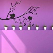 Naklejka ścienna Gałąź g19 CENA 17,50PLN #naklejka_gałąź #naklejka_ścienna #dekoracje ścienne #naklejki_na_ścianę #inter_dekor #home_decor #home