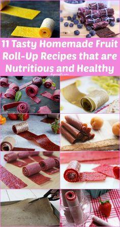 Healthy Fruit Roll Ups