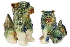 Vintage Foo Dogs, Set of 2 on OneKingsLane.com $345 $4.99