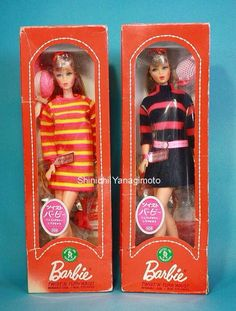 TNT Barbie dolls for the Japanese market.