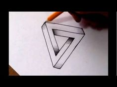 Renowned artist Jonathan Harris will show you how to easily draw the impossible triangle.  Amaze your family and friends with this cool optical illusion!