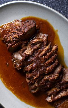 Tangy, Spiced Brisket