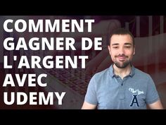 Comment gagner de l'argent avec Udemy ? Udemy, Polo Shirt, Youtube, Mens Tops, Earning Money, Polos, Polo Shirts, Polo, Youtubers