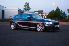 I don't always fine the new 1 series too attractive, but this BMW 116d is great.