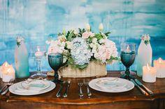 dreamy watercolor wedding editorial - photo by Julia Park Photography http://ruffledblog.com/dreamy-watercolor-wedding-editorial