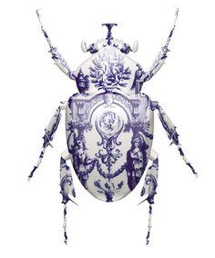 Delft Blue Beetle via Magnus Gjoen