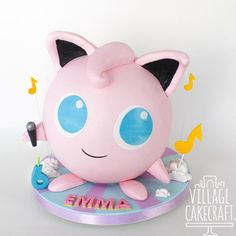 Village Cakecraft - Timeline Video Game Cakes, 7 Cake, Piggy Bank, Hello Kitty, Projects To Try, Sweets, Cartoon, Timeline, Crafts