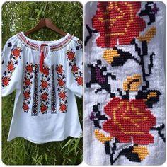 Ethno Style, Pillowcase Dresses, Crochet Stitches, Kurti, Christmas Sweaters, Cross Stitch, Traditional, Embroidery, Handmade