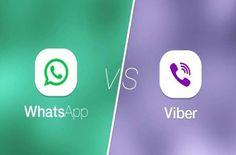 WhatsApp vs Viber: ¿cuál es mejor mensajera?