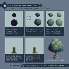 Official Post from Slynyrd: Easily create complex textured sprites with this layered approach.