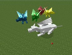 Minecraft Dragon Craft Mod