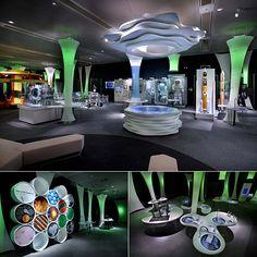 つくばエキスポセンター 2階展示フロア「夢への挑戦」