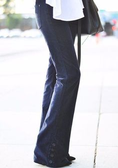 Pilcro Stet Corduroy Flares | pinned by topista.com