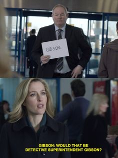 When she reminded this idiot of her title. | 15 Moments When Stella Gibson Was A Total Badass